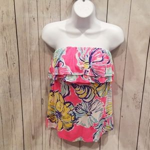 """NWOT BARELY WORN Lilly Pulitzer """"Rilo Tube"""" Top!"""